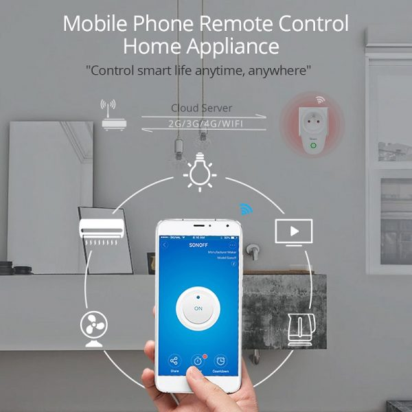 SONOFF S26 Wifi Switch Sockets 2 - S-Deal.eu & Sonoff - oнлайн магазин