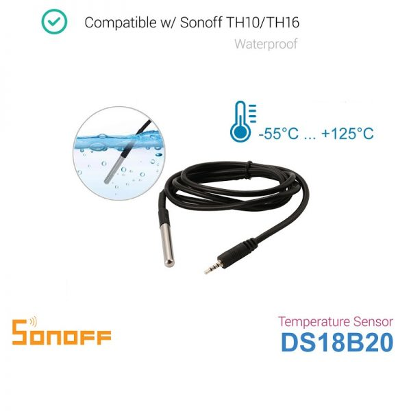 Sonoff DS18B20 1 - S-Deal.eu & Sonoff - oнлайн магазин