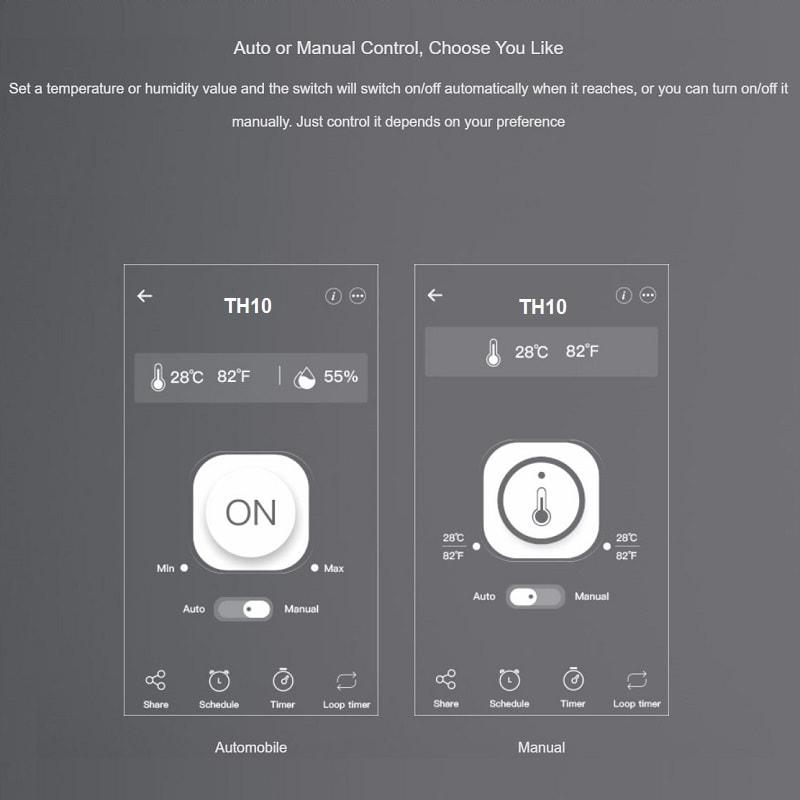 Sonoff TH10 Smart Wifi Switch Monitoring Temperature 9 - S-Deal.eu & Sonoff - oнлайн магазин