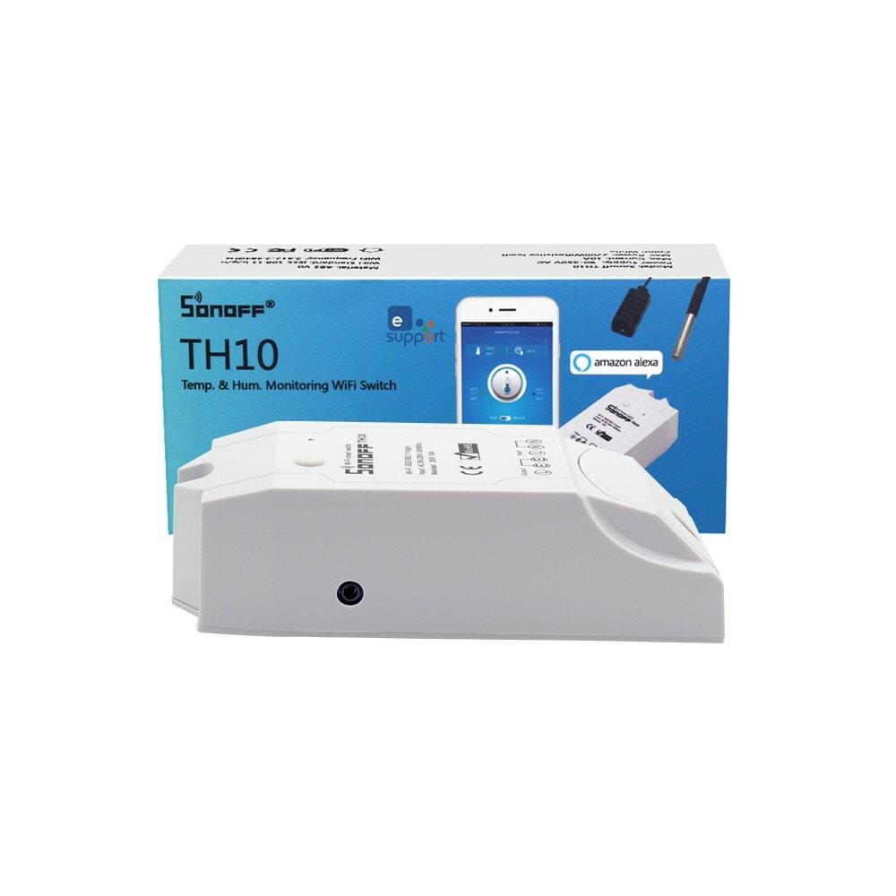 Sonoff TH10 Smart Wifi Switch Monitoring Temperature - S-Deal.eu & Sonoff - oнлайн магазин