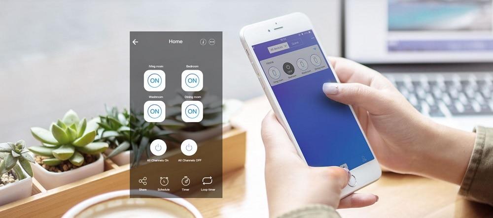 sonoff 4ch r2 smart switch 4 channels 02 - S-Deal.eu & Sonoff - oнлайн магазин