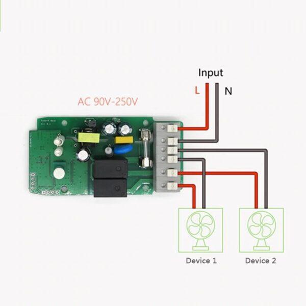 sonoff wifi smart home 16A 3500w double 6 - S-Deal.eu & Sonoff - oнлайн магазин