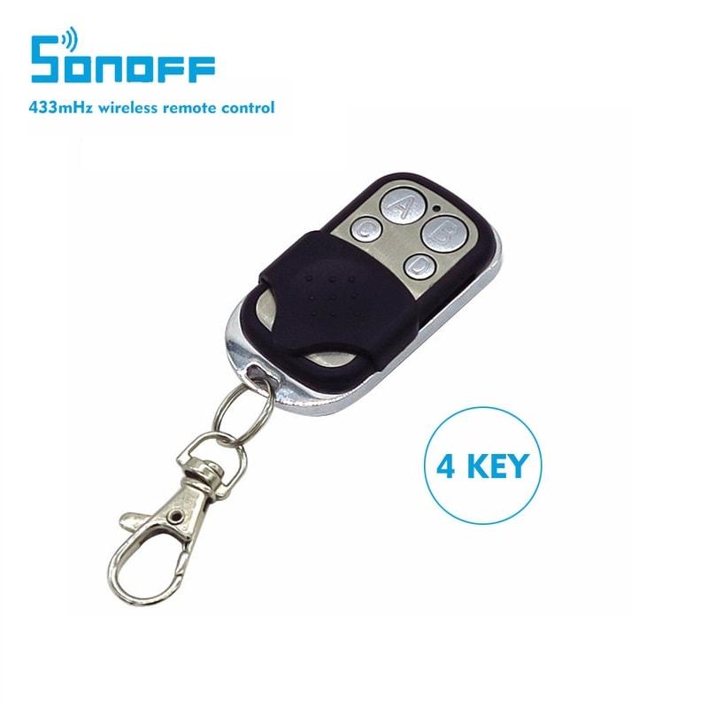 Sonoff RF 433MHz 4 каналa - дистанционно за отдалечено управление
