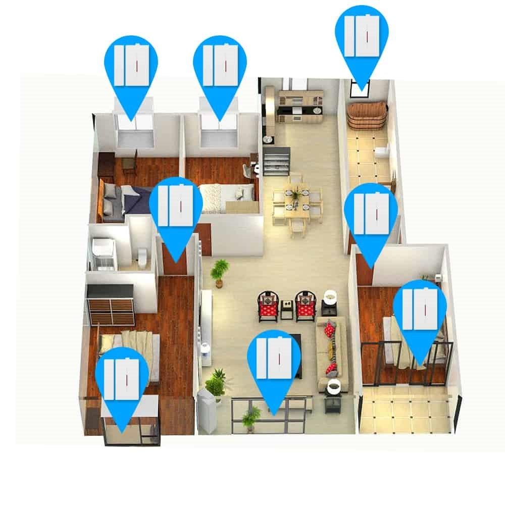 Sonoff DW1 Door Window Alarm Sensor Wireless Automation 06 - S-Deal.eu & Sonoff - oнлайн магазин