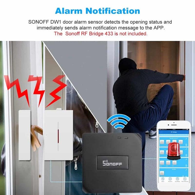 Sonoff DW1 Door Window Alarm Sensor Wireless Automation 07 - S-Deal.eu & Sonoff - oнлайн магазин