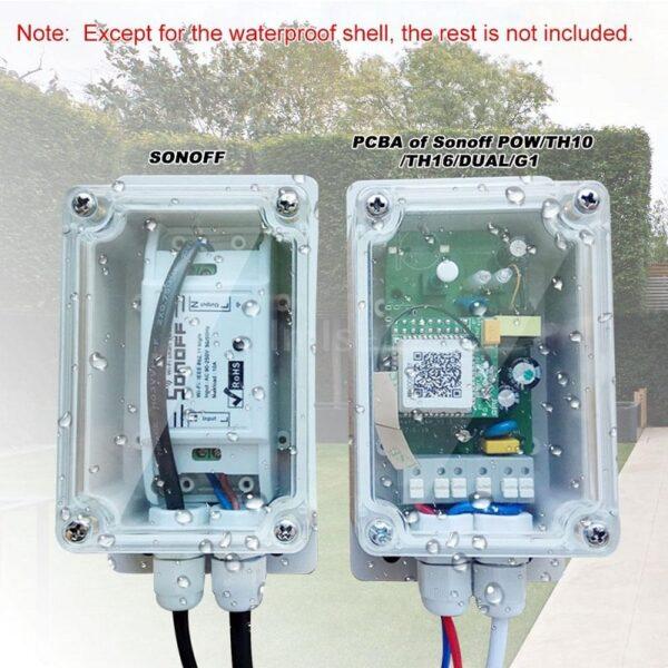 Sonoff IP66 Waterproof Cover Case 05 - S-Deal.eu & Sonoff - oнлайн магазин