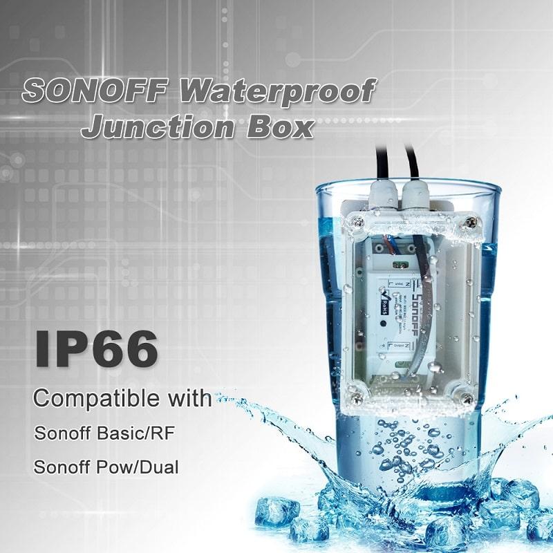 Sonoff IP66 Waterproof Cover Case 09 - S-Deal.eu & Sonoff - oнлайн магазин