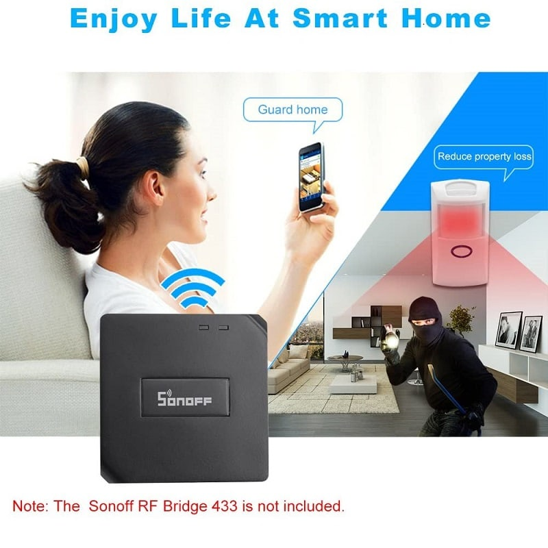 Sonoff PIR2 433Mhz RF PIR Motion Sensor Alarm 8 - S-Deal.eu & Sonoff - oнлайн магазин