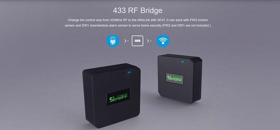 Sonoff RF Bridge 433Mhz 2 - S-Deal.eu & Sonoff - oнлайн магазин