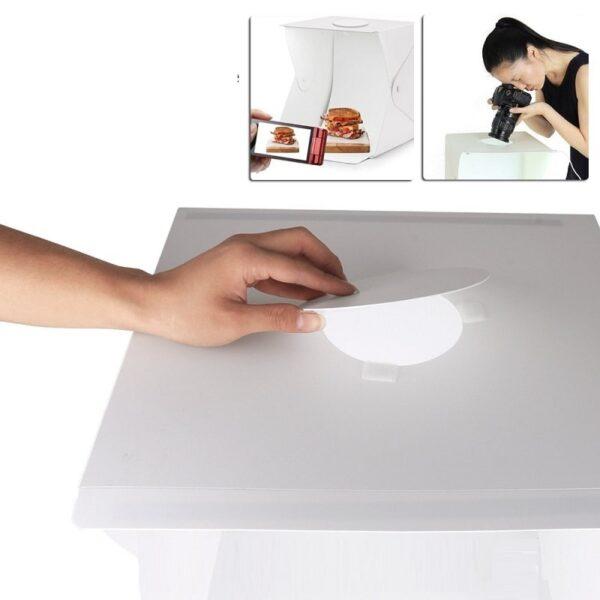 portable photo box studio 20 30 40 cm for product photography with Led lighting 08 - S-Deal.eu & Sonoff - oнлайн магазин