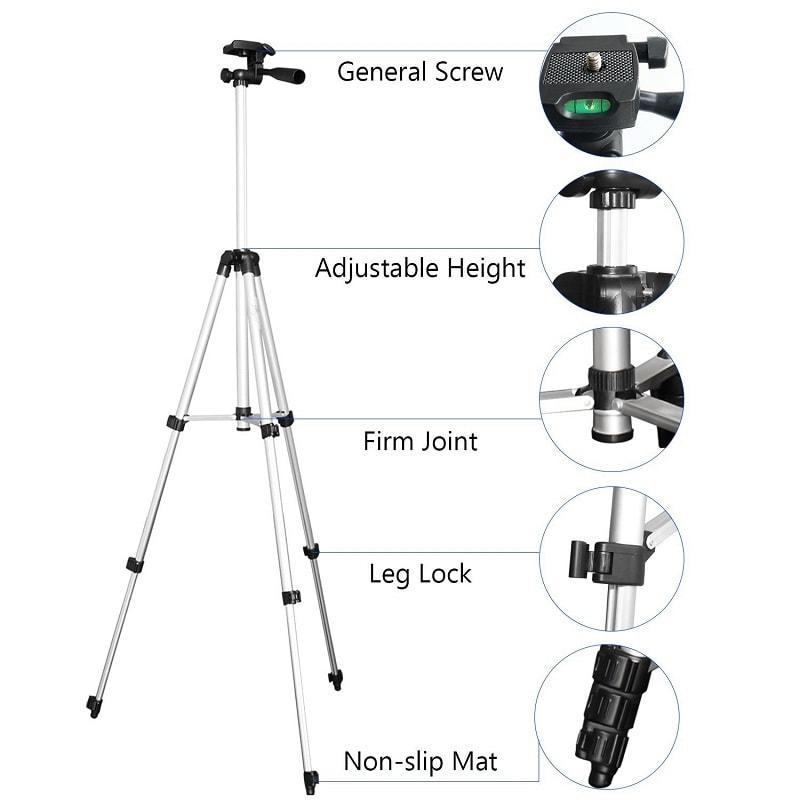 professional camera tripod stand holder 106 cm 1 - S-Deal.eu & Sonoff - oнлайн магазин