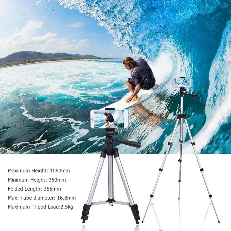 professional camera tripod stand holder HSU compact 106 cm 08 - S-Deal.eu & Sonoff - oнлайн магазин