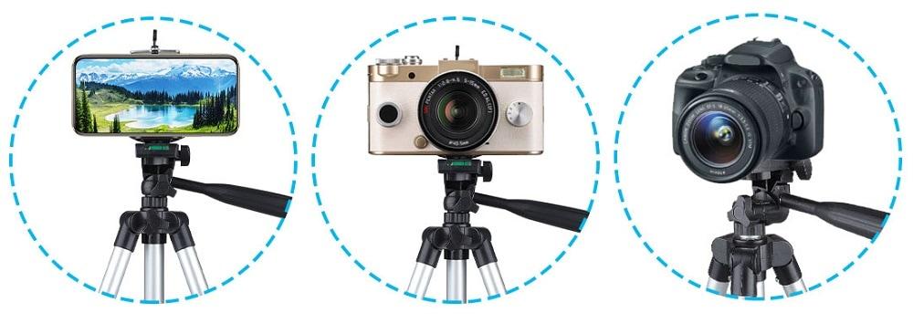 professional camera tripod stand holder HSU compact long 05 - S-Deal.eu & Sonoff - oнлайн магазин