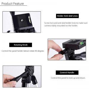professional camera tripod stand holder HSU compact long 06 - S-Deal.eu & Sonoff - oнлайн магазин