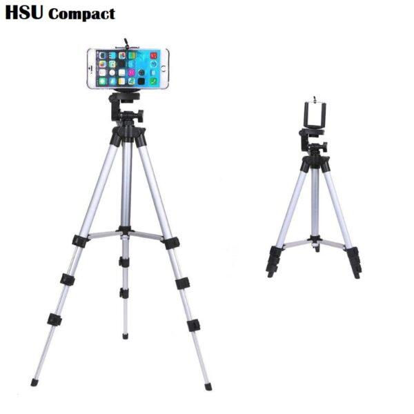 HSU BS Compact 106 см – pазтегателен професионален трипод за екшън камери и телефони - professional-camera-tripod-stand-holder-HSU-compact-long_14