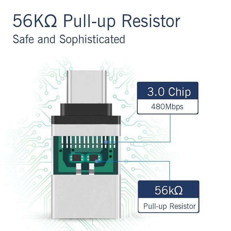 OTG преходник – Type C to USB 3.0 - Type-C-to-USB-3-0-OTG-Adapter