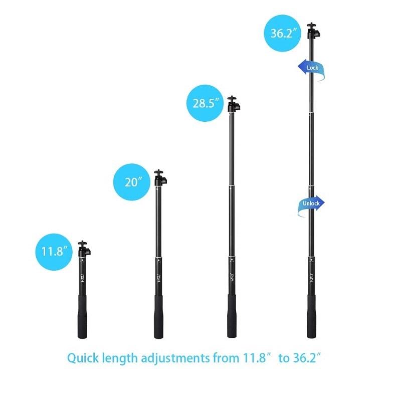 Professional SELF Stick HSU 5 in 1 Remote to 92 cm tripod waterproof GoPro iPhone Android 3 1 - S-Deal.eu & Sonoff - oнлайн магазин