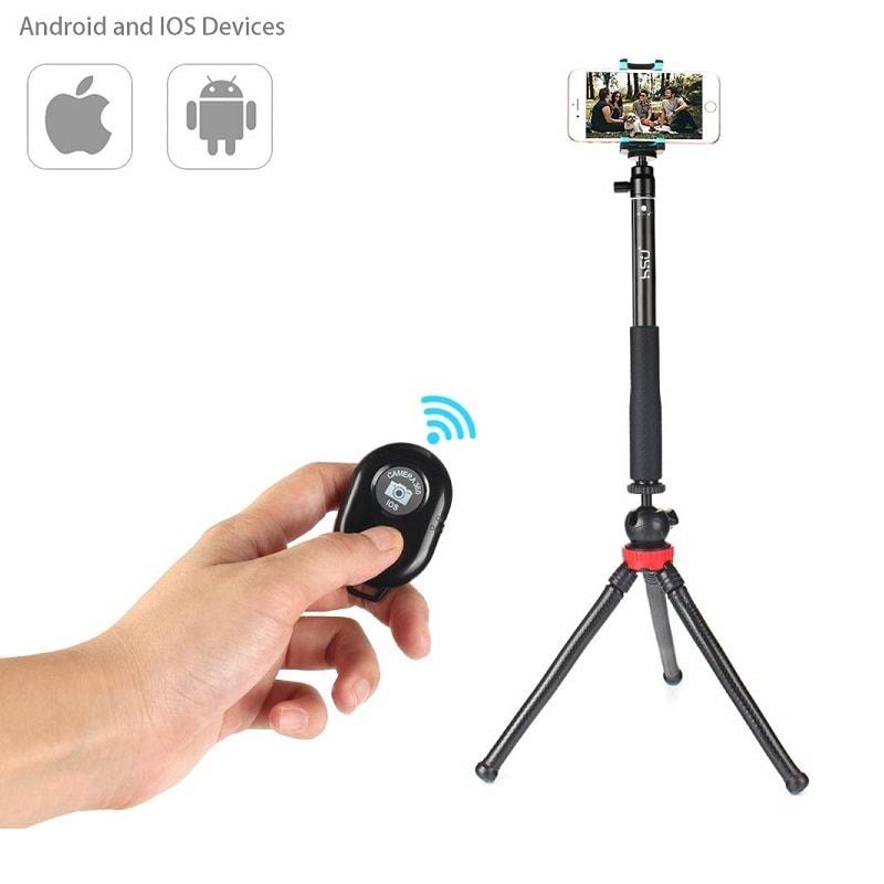 Professional SELF Stick HSU 5 in 1 Remote to 92 cm tripod waterproof GoPro iPhone Android 4 1 - S-Deal.eu & Sonoff - oнлайн магазин