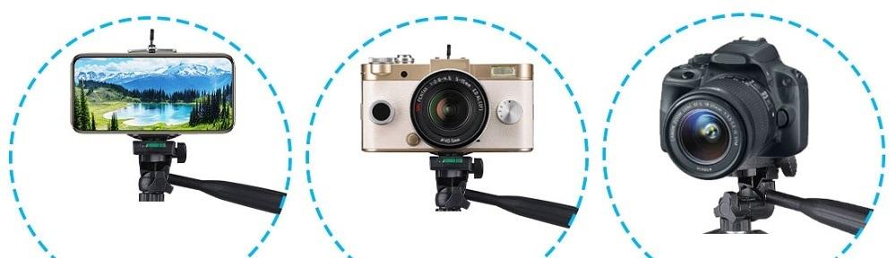 Hanmi 666 Action Camera Tripod Monopods Professional Tripod Portable 00 - S-Deal.eu & Sonoff - oнлайн магазин