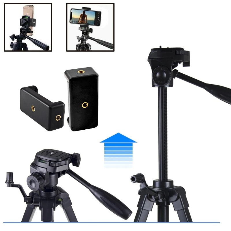 Hanmi 666 Action Camera Tripod Monopods Professional Tripod Portable 001 - S-Deal.eu & Sonoff - oнлайн магазин