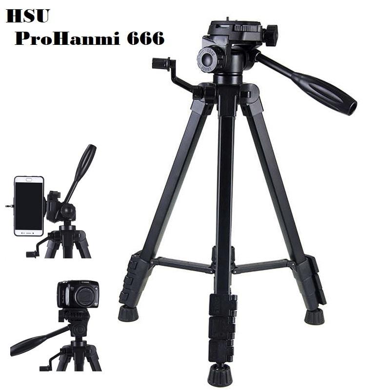 Hanmi 666 Action Camera Tripod Monopods Professional Tripod Portable 009 - S-Deal.eu & Sonoff - oнлайн магазин