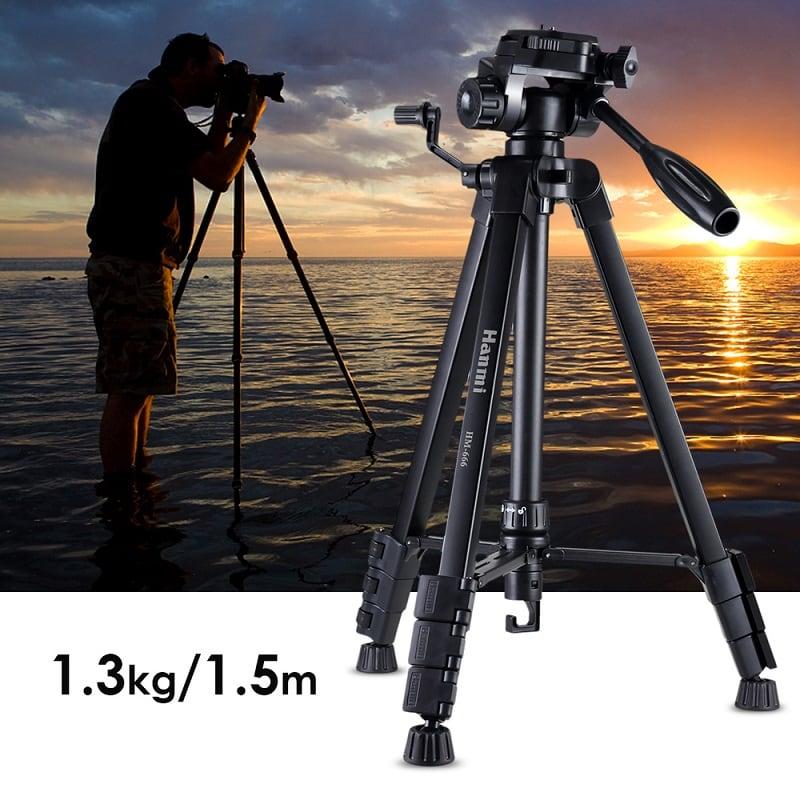 Hanmi 666 Action Camera Tripod Monopods Professional Tripod Portable 02 - S-Deal.eu & Sonoff - oнлайн магазин