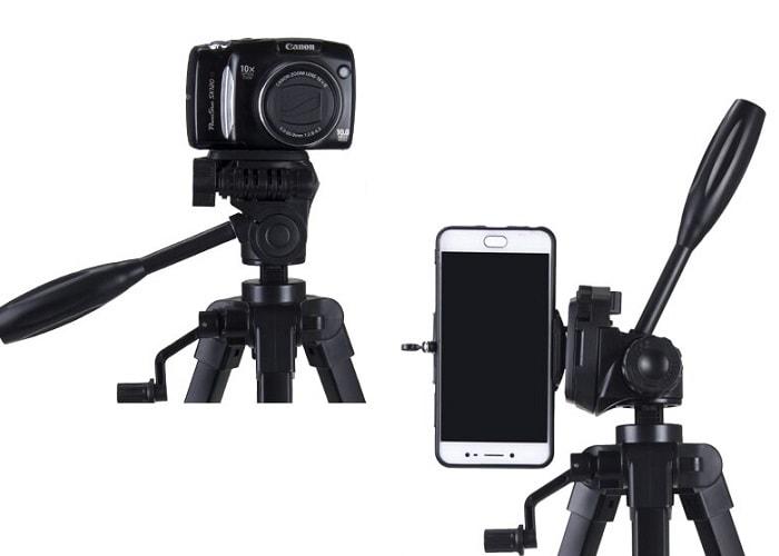 Hanmi 666 Action Camera Tripod Monopods Professional Tripod Portable 10 - S-Deal.eu & Sonoff - oнлайн магазин