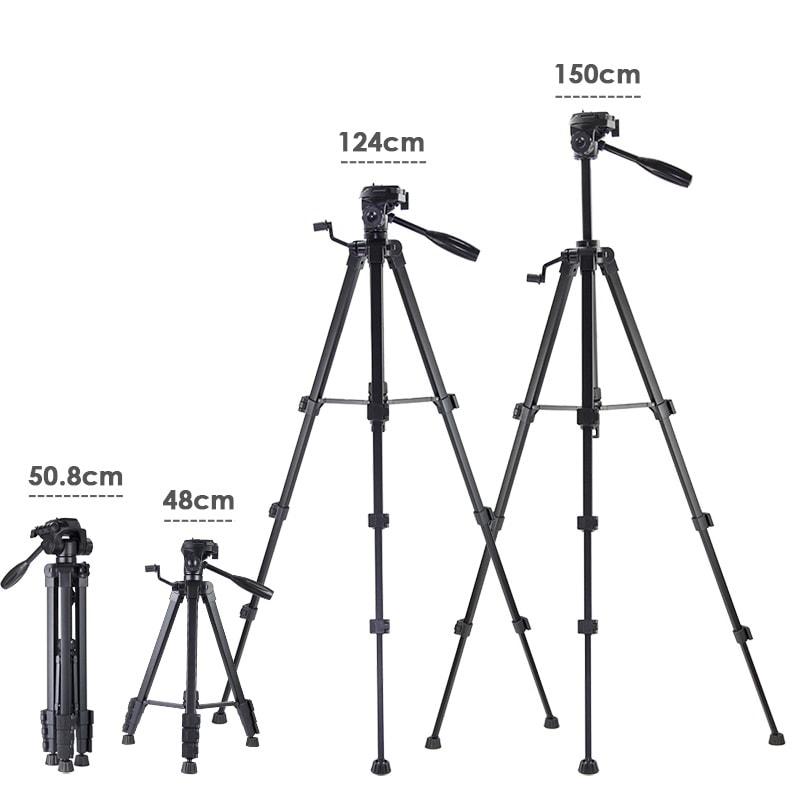 Hanmi 666 Action Camera Tripod Monopods Professional Tripod Portable 12 - S-Deal.eu & Sonoff - oнлайн магазин