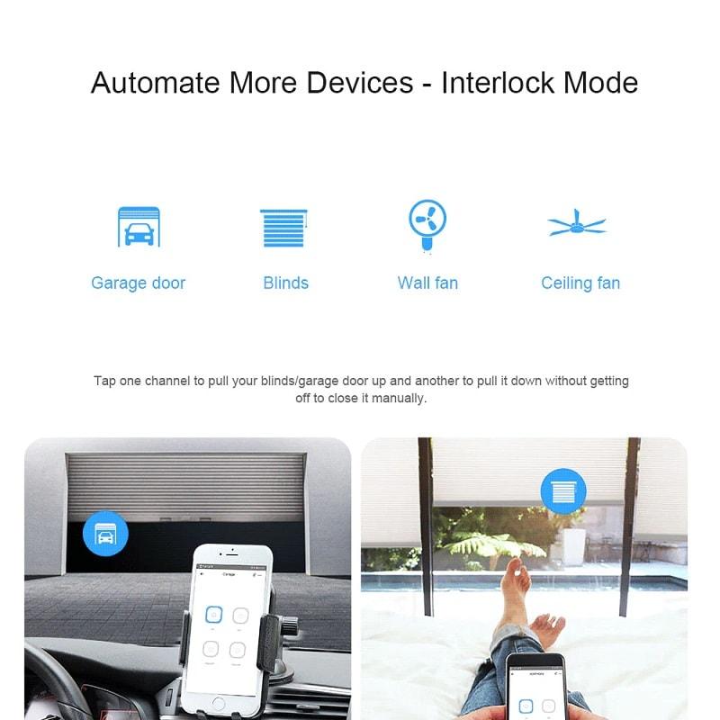SONOFF 4CH R3 4CH PRO R3 Smart WiFI Switch 03 - S-Deal.eu & Sonoff - oнлайн магазин