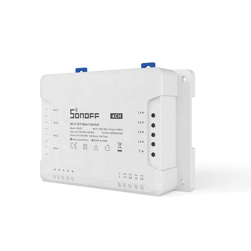 SONOFF 4CH R3 Smart WiFI Switch 01 - S-Deal.eu & Sonoff - oнлайн магазин