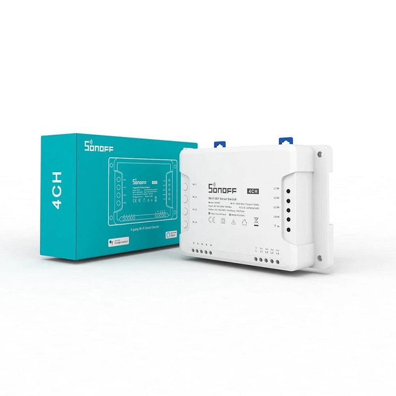SONOFF 4CH R3 Smart WiFI Switch 03 - S-Deal.eu & Sonoff - oнлайн магазин