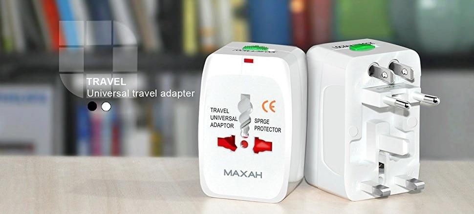 All in one EU UK US AU Universal Travel adapter 2 USB 12 - S-Deal.eu & Sonoff - oнлайн магазин