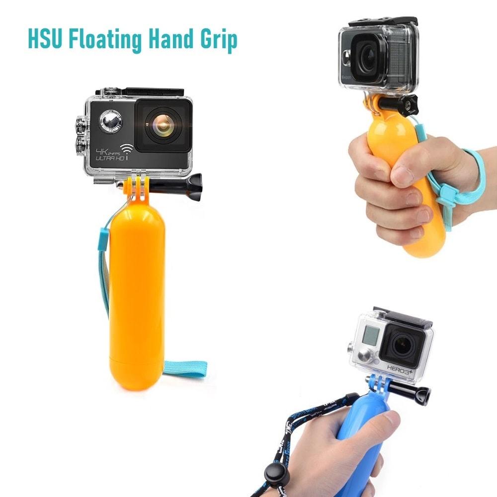 HSU Floating Hand Grip Handle - Непотъваща Плувка дръжка (ръкохватка)   GoPro   Xiaomi   GARMIN ...- floating-hand-grip-handle-gopro-xiaomi-garmin
