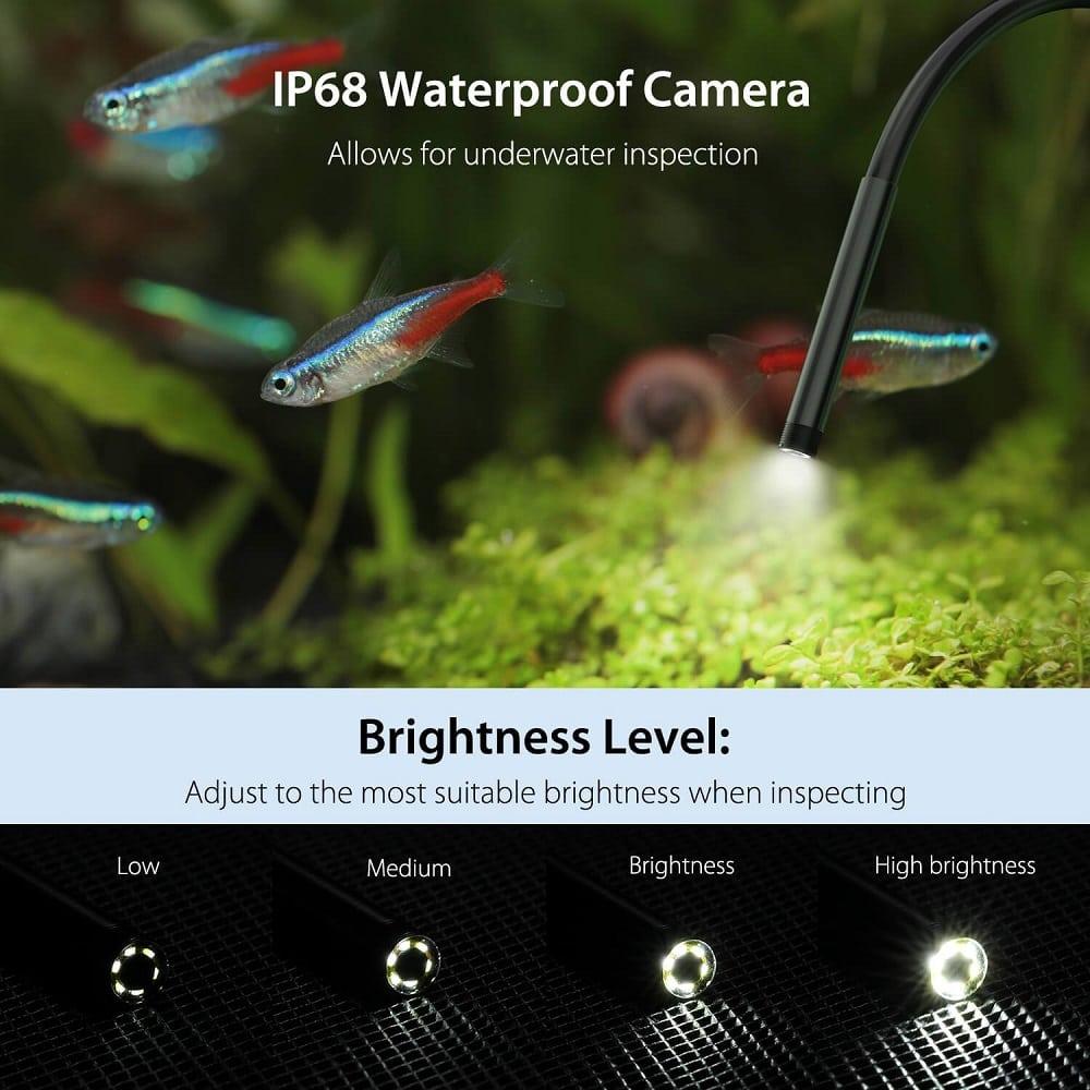 wireless endoscope ip68 waterproof wifi borescope inspection camera hard 5 5mm 2mp hd 10 - S-Deal.eu & Sonoff - oнлайн магазин
