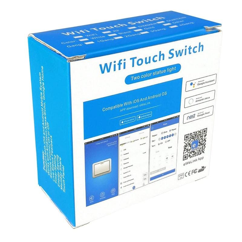EWELINK Dimmer Switch WiFi Smart Light Touch Switch Dimming Compatible Alexa Google Home 8 - S-Deal.eu & Sonoff - oнлайн магазин