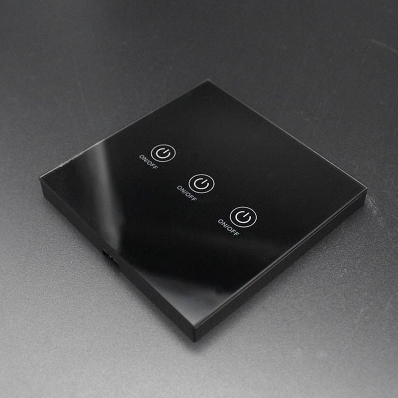 touch glass panel button wireless remote control 433mhz 1 2 3 gang 07 - S-Deal.eu & Sonoff - oнлайн магазин