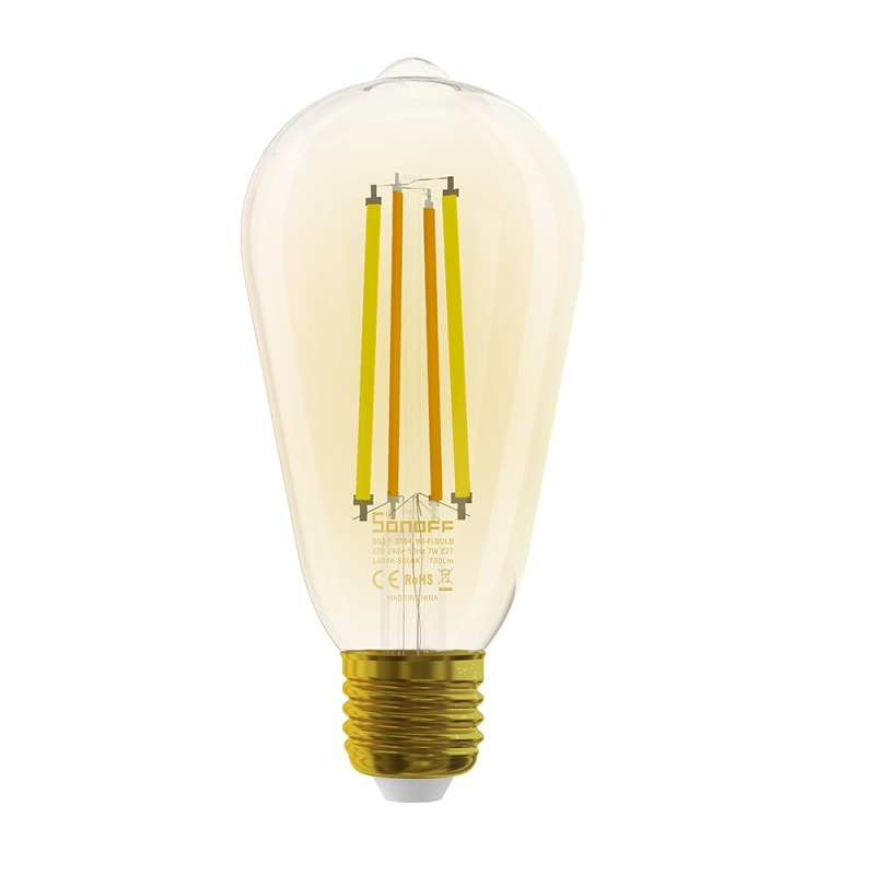 SONOFF B02 F ST64 Smart Wi Fi LED Filament Bulb Vintage 03 - S-Deal.eu & Sonoff - oнлайн магазин