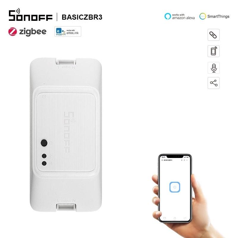 SONOFF BASICZBR3 - Zigbee DIY Смарт превключвател - SONOFF BASICZBR3 - Zigbee DIY Smart Switch