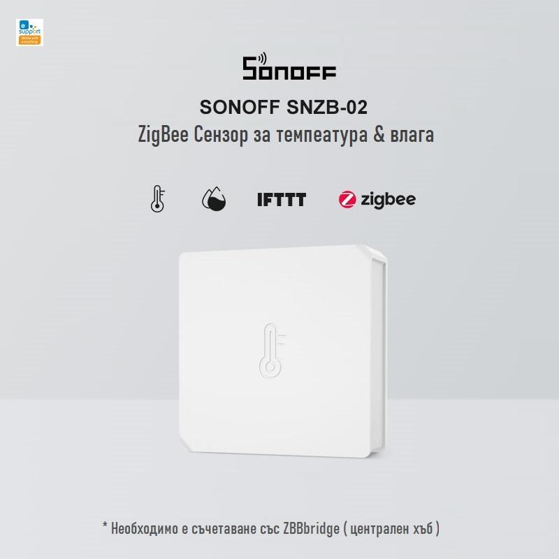 SONOFF SNZB 02 ZigBee Temperature And Humidity Sensor 06 - S-Deal.eu & Sonoff - oнлайн магазин