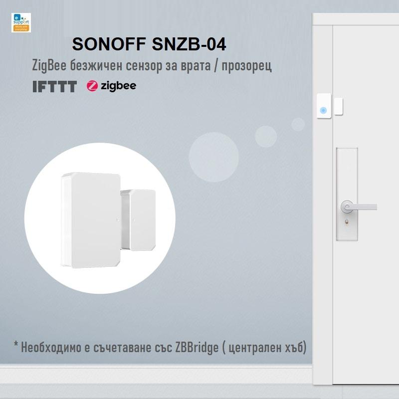 SONOFF SNZB 04 ZigBee Wireless Door Window Sensor 02 - S-Deal.eu & Sonoff - oнлайн магазин