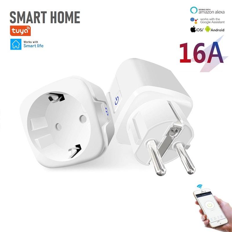 tuya-bsd33-smart-socket-16a-with-power-monitoring - Tuya BSD33 - WiFi преходен контакт 16А с мониторинг на Консумираната енергия