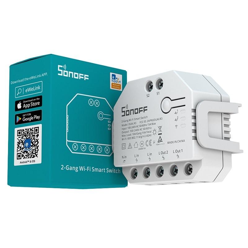 SONOFF DUALR3 Dual Relay Two Way Power Metering Smart Switch 01 - S-Deal.eu & Sonoff - oнлайн магазин