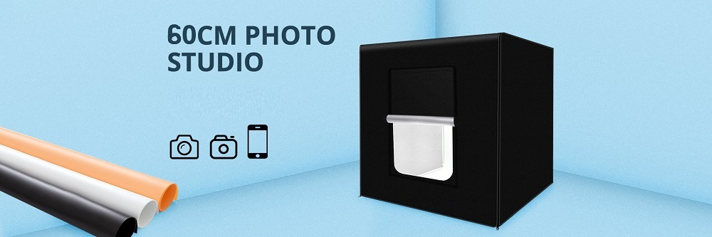 professional portable photo box studio 60 cm for product photography 08 - S-Deal.eu & Sonoff - oнлайн магазин